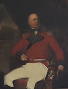 Colonel Drinkwater, founder of the Gibraltar Garrison Library