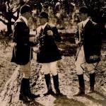 Left: Major CHS Townsend RAVC Centre: Pablo Larios Marquis de Marzales Right: Mr A.B. Hankey 1928