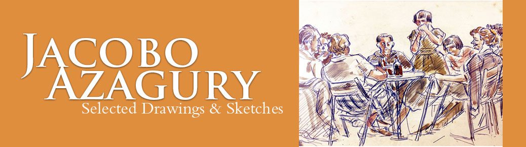 Jacobo Azagury Selected Drawings & Sketches