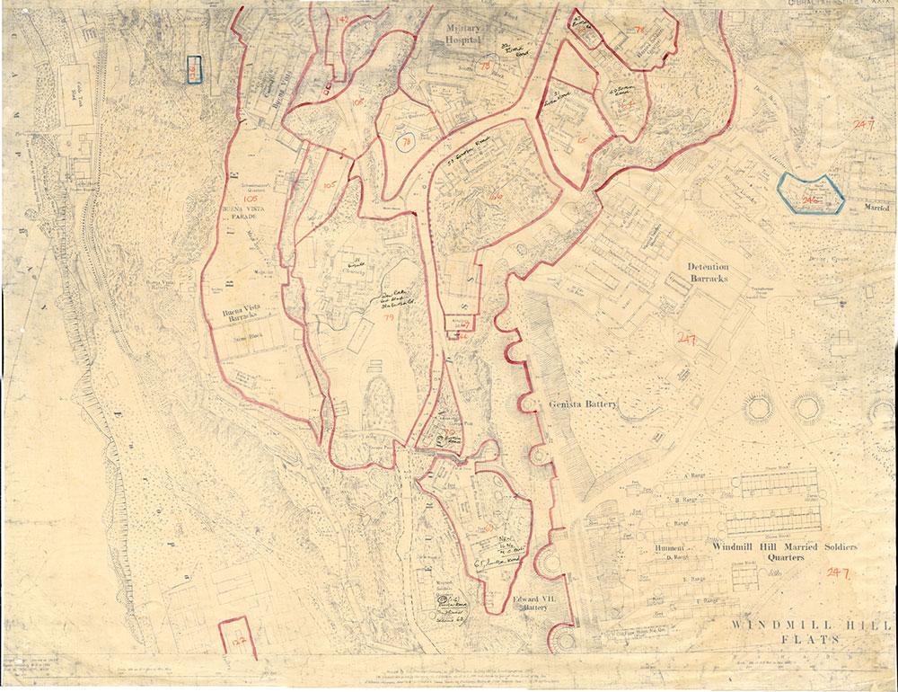 Map-2-Gibraltar-Sheet-39-1941-Buffadero-Training-Area-Windy