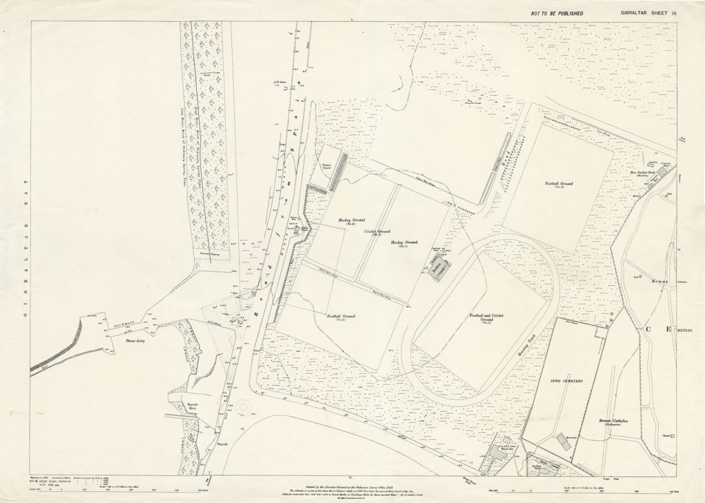 Map-1-Gibraltar-Sheet-3-1942-Sundial-Roundabout