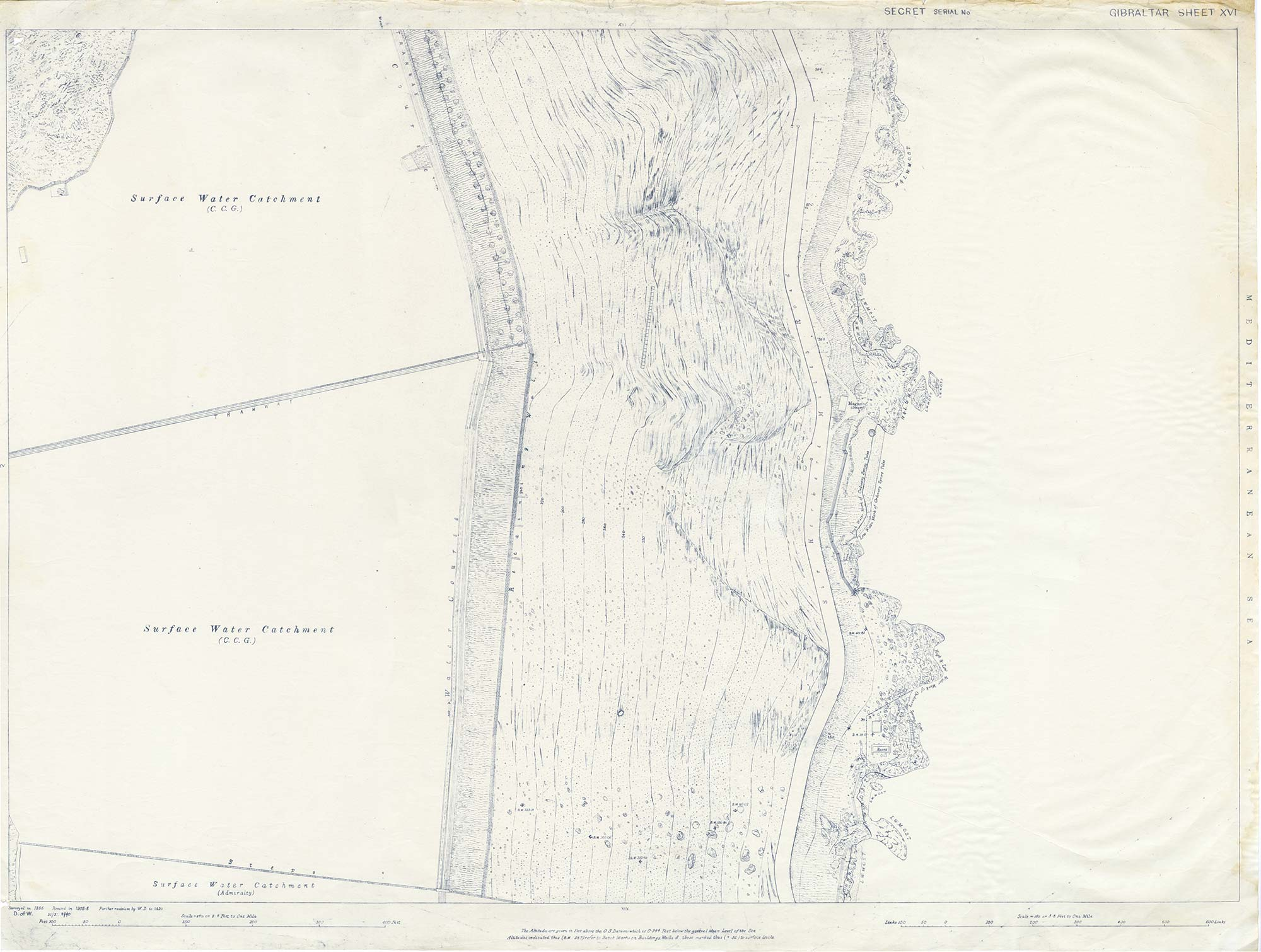 Map-10-OS-Sheet-16-Water-Catchment-1930