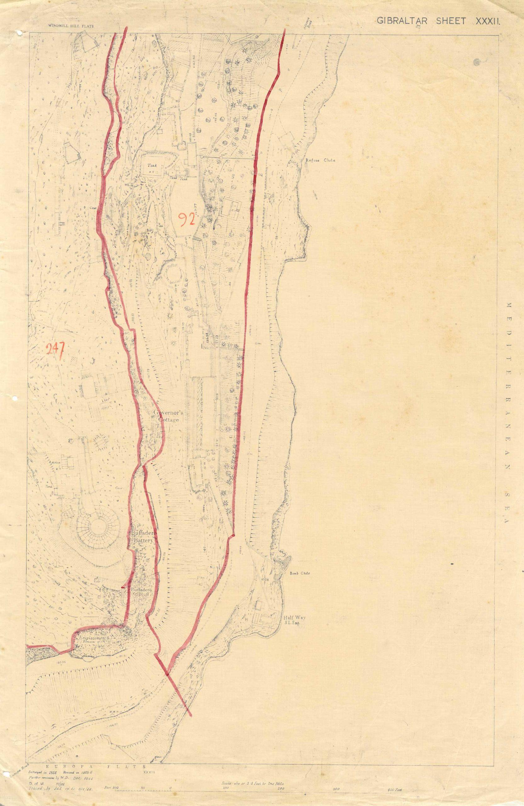 Map-13-OS-Sheet-32-Buffadero-Battery-Crematorian-1942
