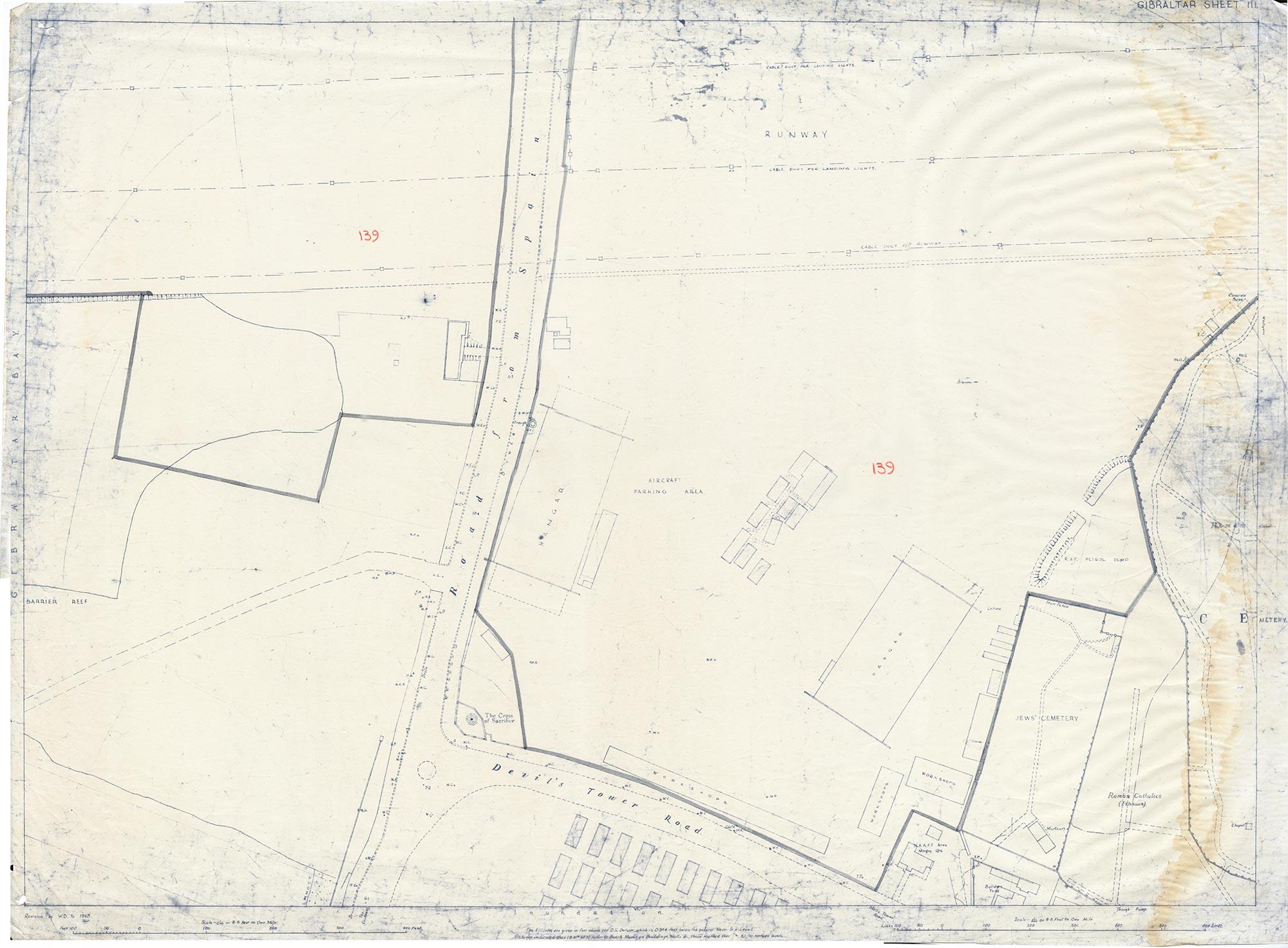 Map-4-Gibraltar-Sheet-3-1948-Sundial-Roundabout