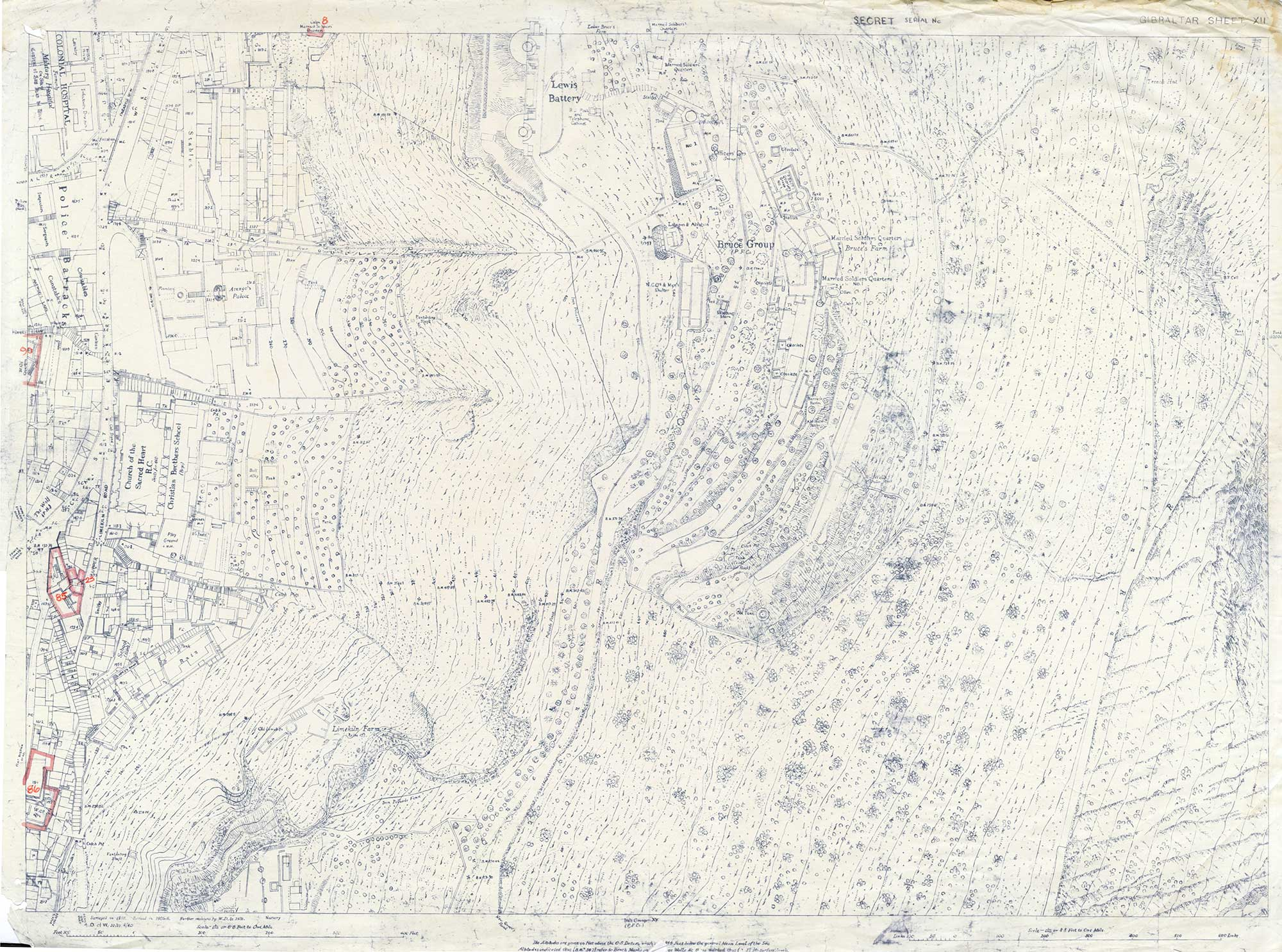 Map-48-OS-sheet-7-Bruces-Group---Police-Barracks-1931