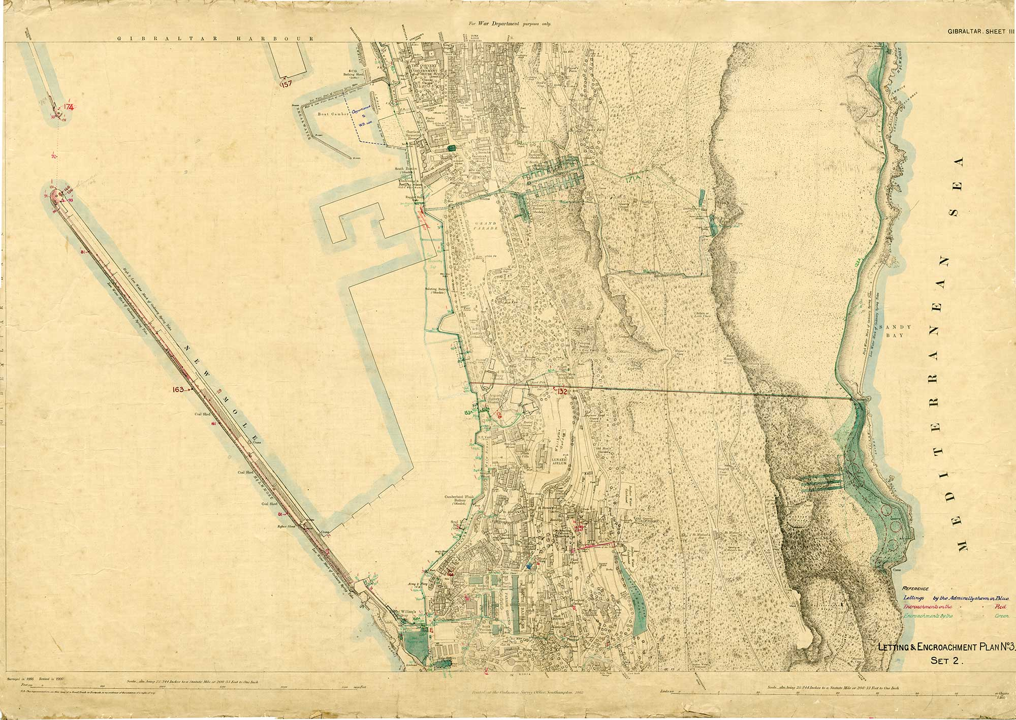 Map-52-OS-Sheet-3-South-Mole-Sandy-Bay-1900